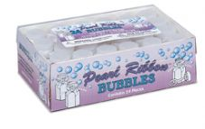 Pearl Ribbon Wedding Bubbles
